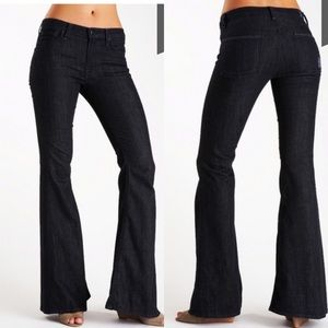 7 for all Mankind Bell Bottom Jeans High Rise 29